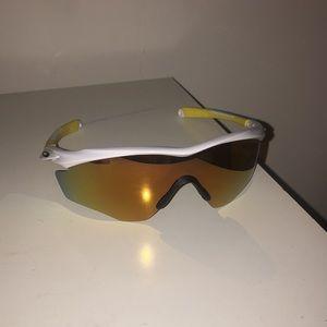 Yellow Sport Oakley Suglasses - brand new